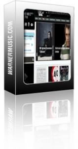 Nueva web de Warner Music España
