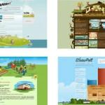 """Tendencias del diseño web – """"paisajes vectorizados"""""""