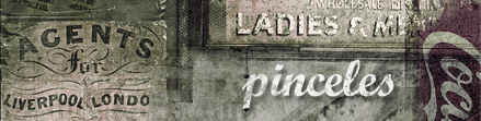 Pinceles Retro Vintage