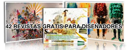 Revistas gratuitas online para diseñadores