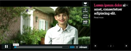 Cargador de vídeos en jQuery