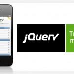 jQuery Mobile. Diseña tu web para teléfono móvil.