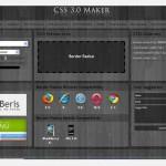 CSS 3.0 MAKER Generador de CSS para diseño web