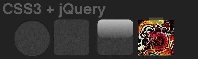 Efectos a imágenes con jQuery y CSS3