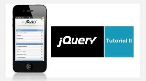Web App con jQuery Mobile. Transiciones de página. Tutorial II