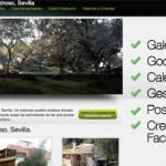 Casa Rural en Sevilla (El Pedroso). Diseño Web para Turismo Rural