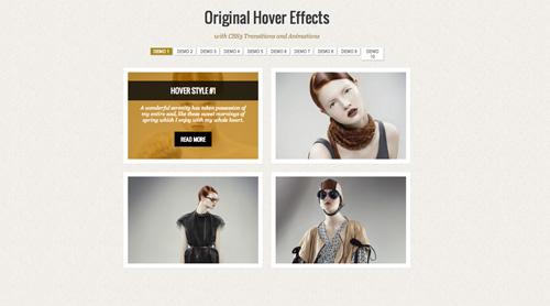 Efectos rollover con jQuery CSS3