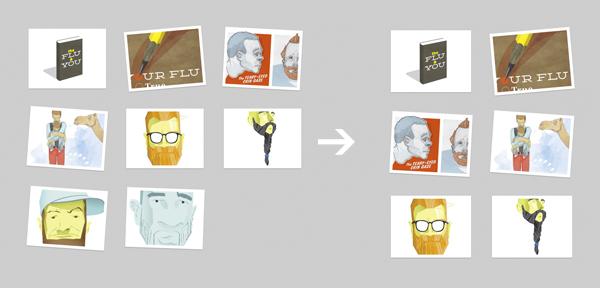 Portfolio adaptativo en jQuery