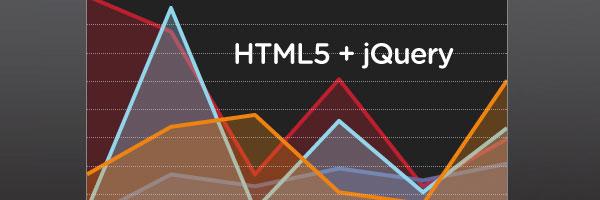 Dibujar gráficos con HTML5 y jQuery