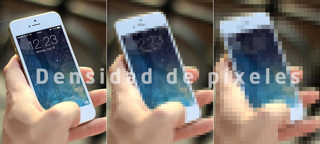 densidad de píxeles