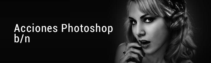 20 Acciones Photoshop Gratis, para fotografía en blanco y negro.