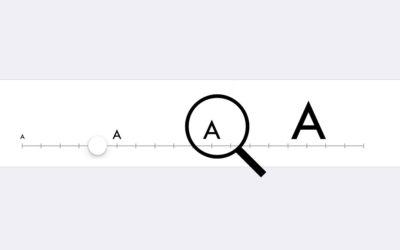 UI – Guía de tamaños de fuente