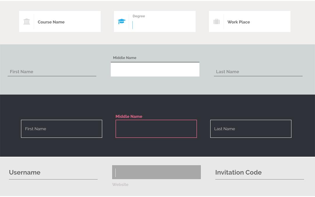 Impresionantes efectos CSS para tus Input